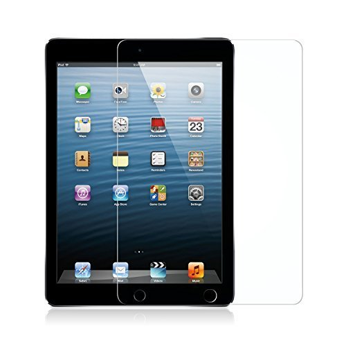 高透過率 9.7 inch 【ガイド枠付き】Nimaso iPad 9.7 用 ガラスフィルム iPad AiO7PG259_画像2