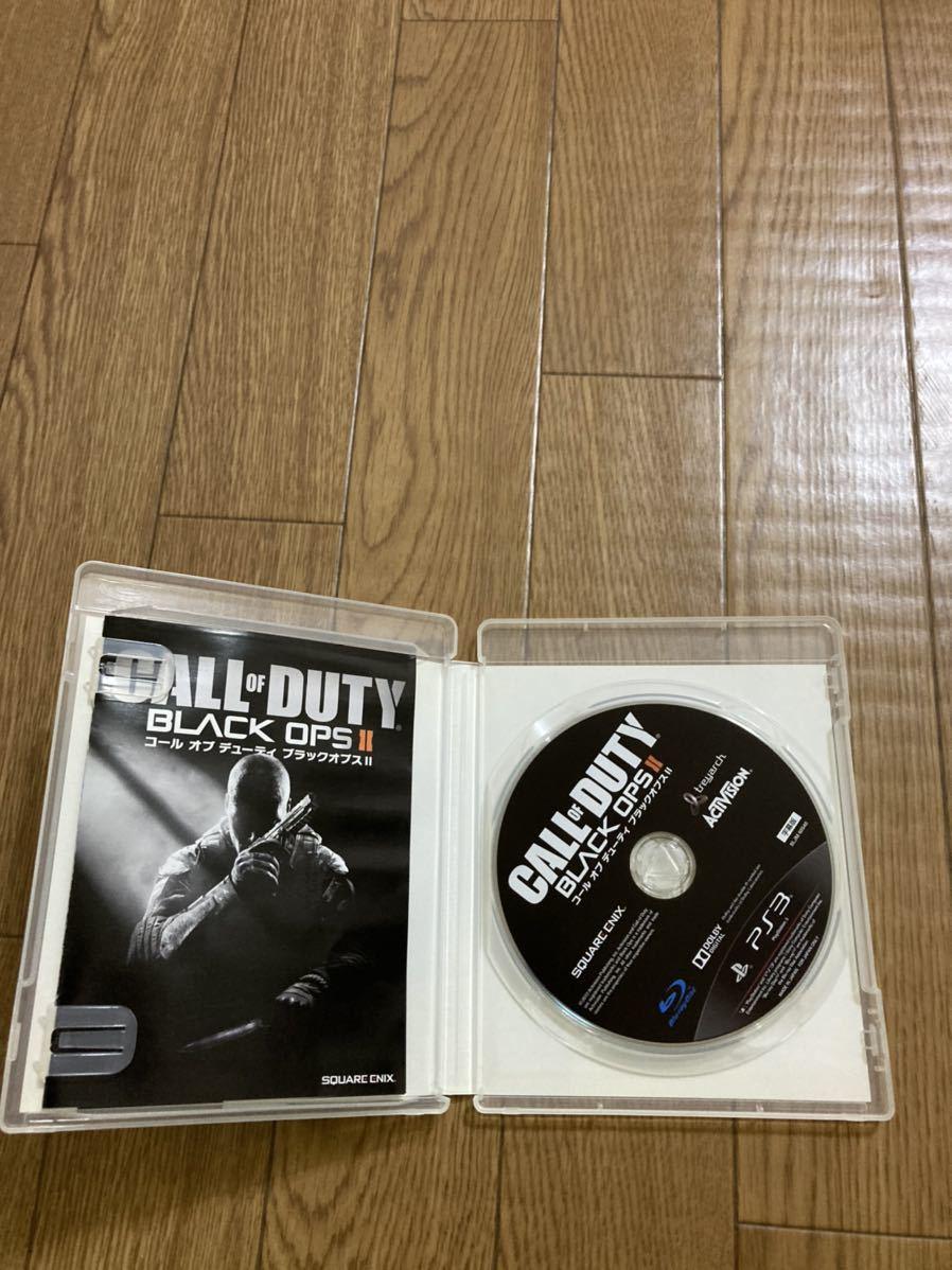 PS3ソフト コールオブデューティブラックオプスII