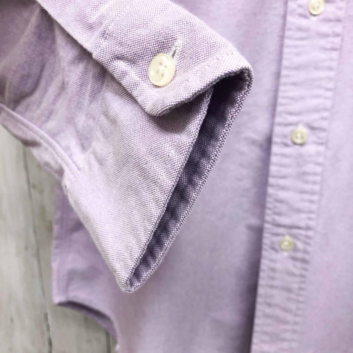 ラルフローレン POLO Ralph Lauren Polo 長袖シャツ メンズ ワンポイント Sサイズ 7-60_画像6
