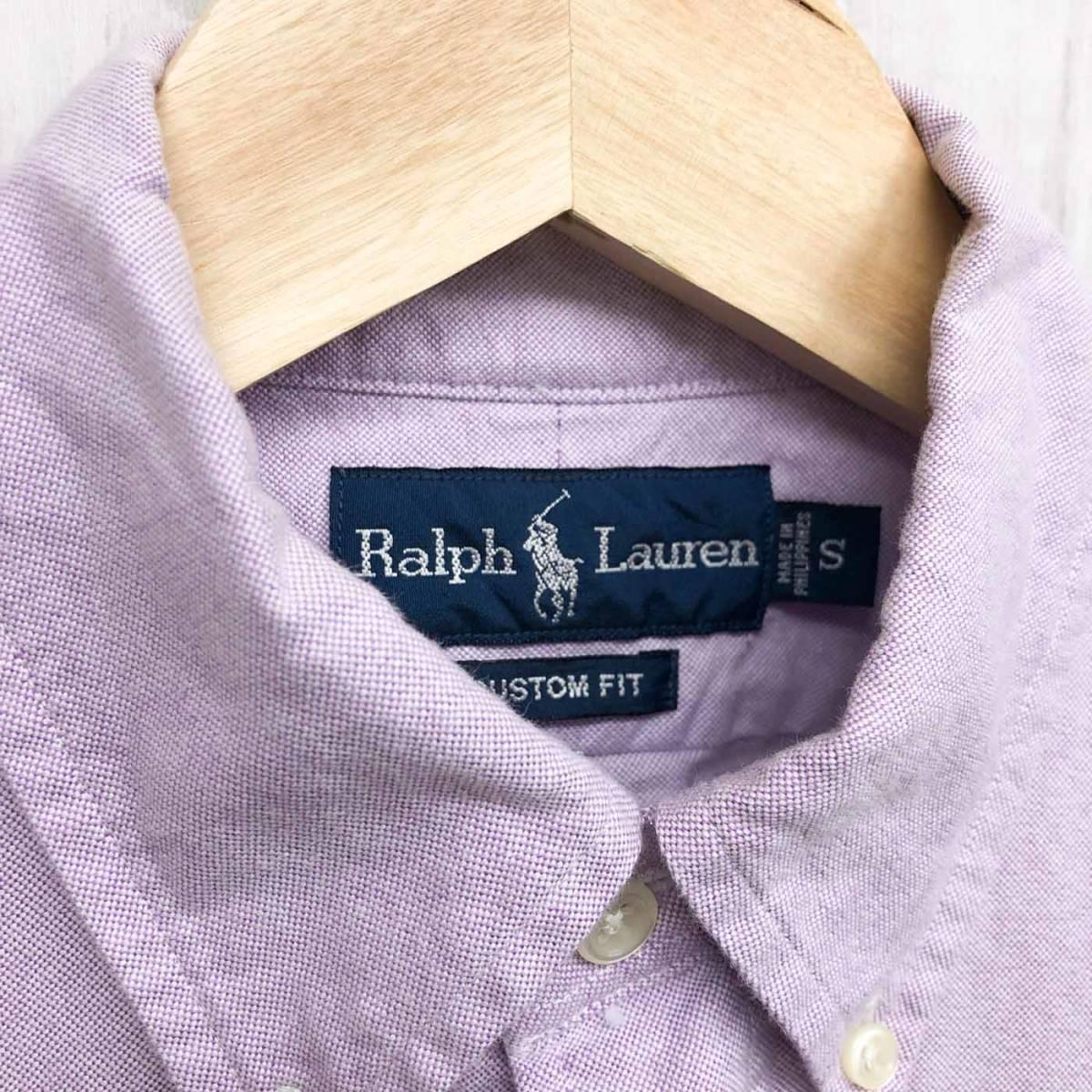 ラルフローレン POLO Ralph Lauren Polo 長袖シャツ メンズ ワンポイント Sサイズ 7-60_画像5