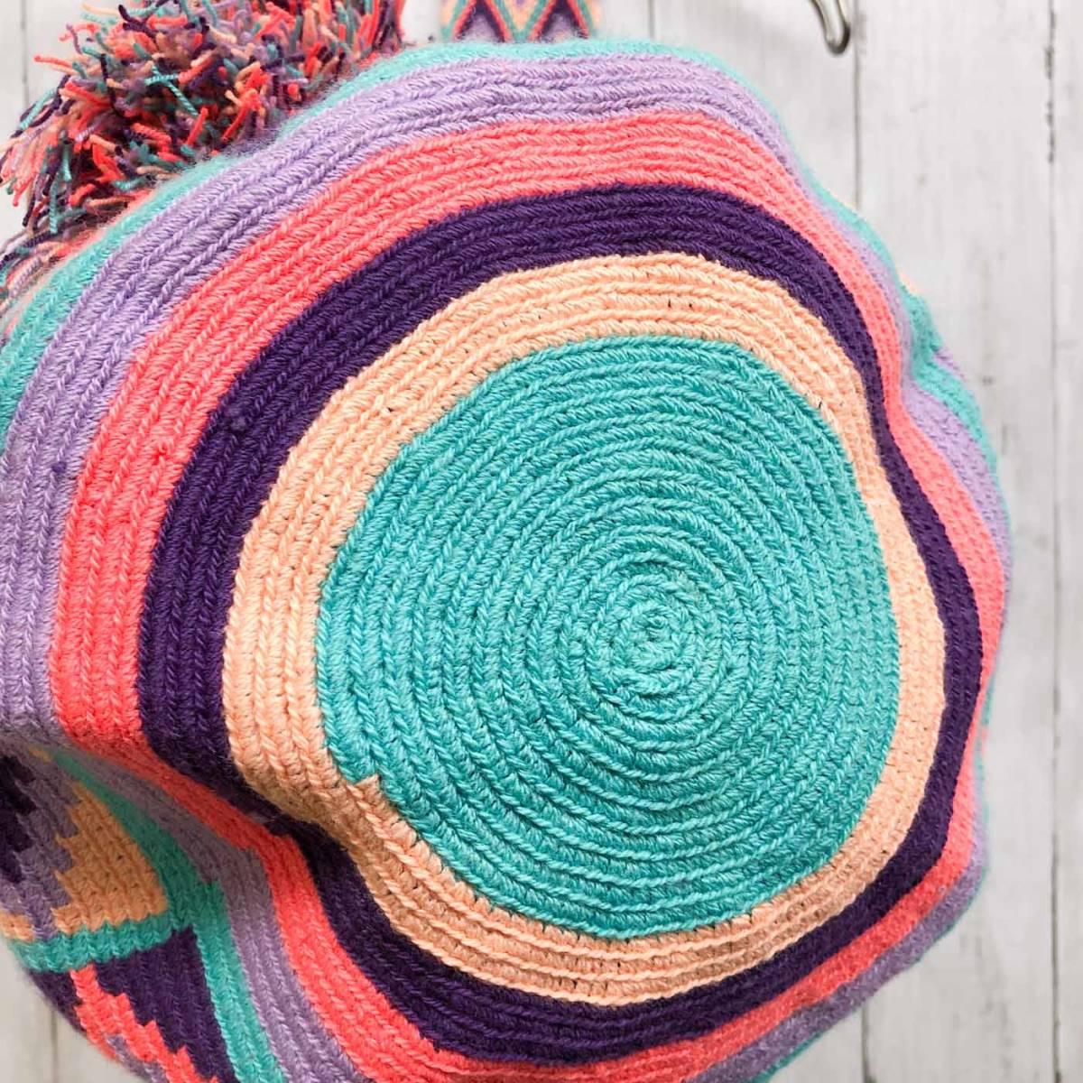 ワユーバッグ wayuu bag マザーズバッグ ショルダーバッグ レディース かごバッグ きれいめ ハンドメイド 手織り 南米 コロンビア 3_画像6
