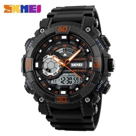 LDL128#メンズ スポーツウォッチ SKMEI ファッション アウトドア 電子 デジタル腕時計 50m 防水 レロジオ_画像4