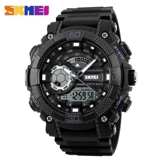 LDL128#メンズ スポーツウォッチ SKMEI ファッション アウトドア 電子 デジタル腕時計 50m 防水 レロジオ_画像5