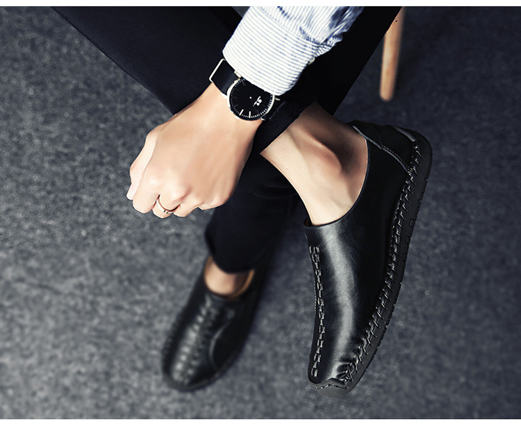 CHQ638#新品 メンズ スリッポン ローファー ドライビングシューズ 紳士靴 カジュアル ローカット_画像3