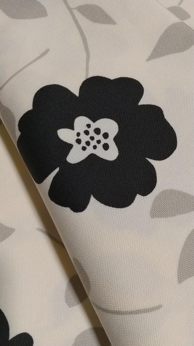 北欧お花柄☆コットンオックス
