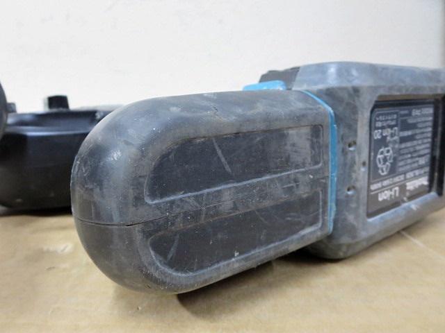 S3432 中古 makita マキタ HR262DRDX 26mm 充電式ハンマドリル 36V 2.6Ah バッテリ×2&充電器&ビット多数付_画像9