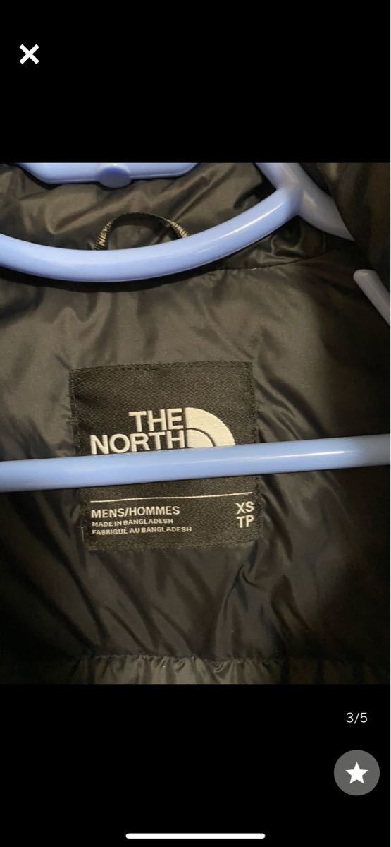 THE NORTH FACE ダウンジャケットメンズ XSサイズ JACKET ノースフェイスヌプシダウン ダウンジャケット