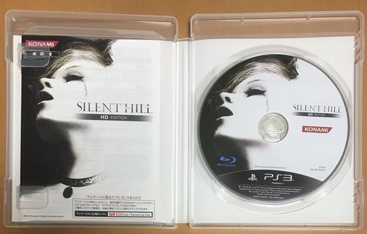 送料無料 PS3 SILENT HILL サイレントヒル HD EDITION エディション サイレントヒル2 最期の詩 サイレントヒル3 動作確認済 匿名配送