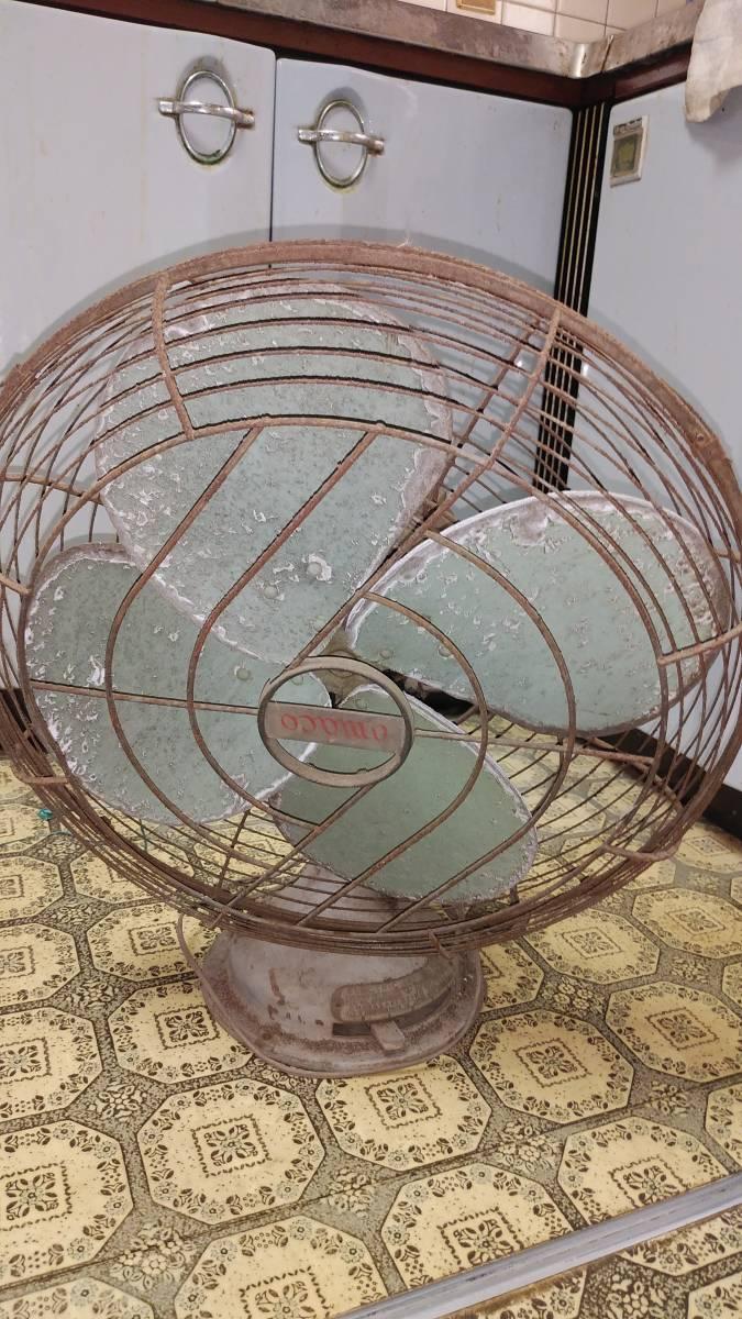 古い扇風機_画像1