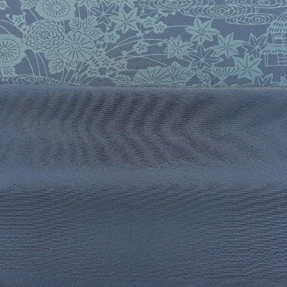 正絹 40401 藍染 小紋 2m シルク はぎれ ハギレ リメイク ハンドメイド