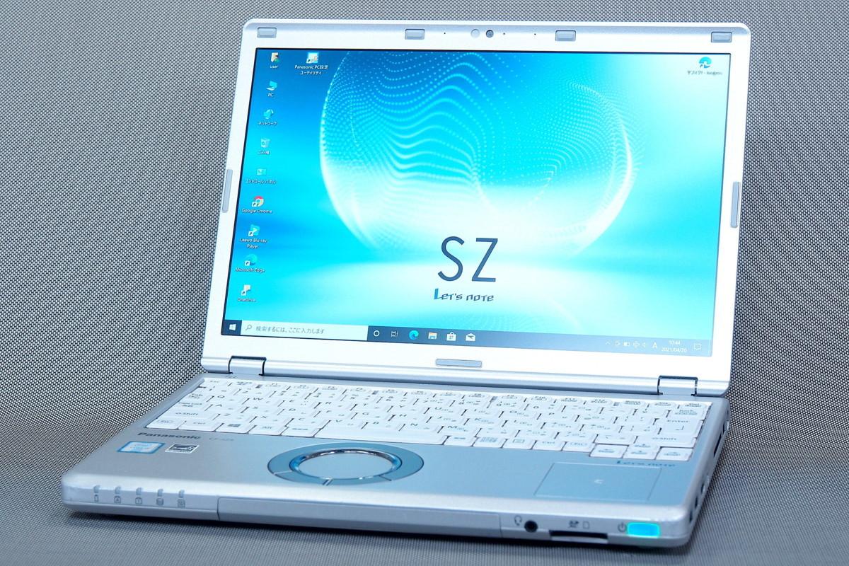 【即配】大容量SSD512G+8Gメモリ搭載!12.1型WUXGA液晶 CF-SZ5 i5-6300U Office 長時間駆動 Win10