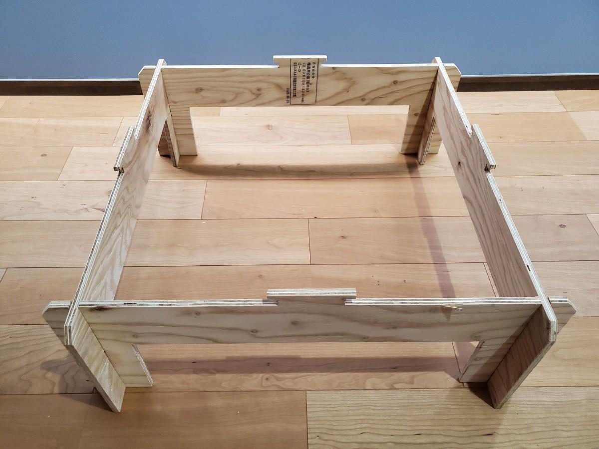 二段階高さ調整可能 囲炉裏テーブル ジカロテーブル