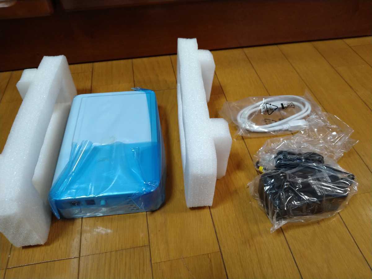 IODATA HDCS-U1.0 USB2.0 USB1.1接続外付け型ハードディスク 未使用品_画像1