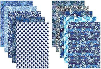 A4判 【.co.jp 限定】和紙かわ澄 特撰 藍染風 手染め 千代紙 友禅和紙 A4判 21×29.7_画像1