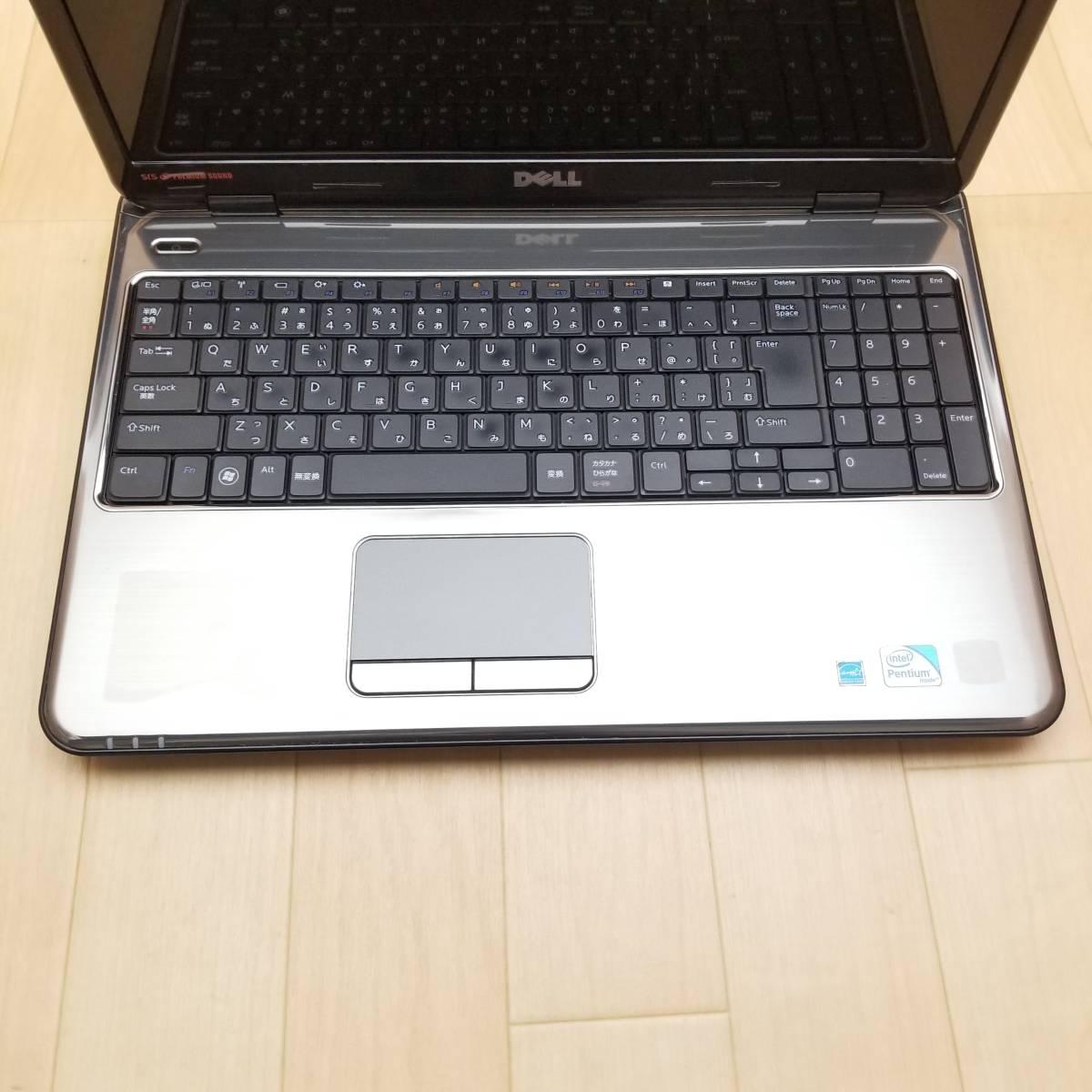 ★美品★HDD500GB/メモリ4GB/無線 Wi-Fi/Webカメラ/最新Office搭載/Win10/高性能Pentium P6200搭載/Inspiron N5010(C6078)_パームレストに薄いスレがあります。