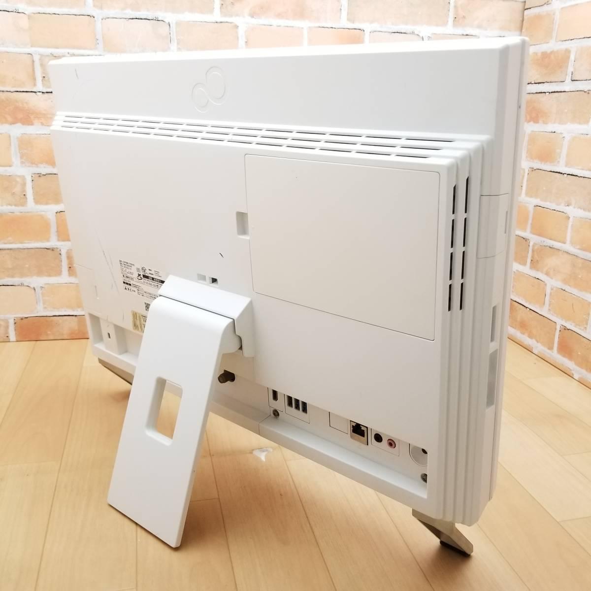 ★美品★高性能第3世代i7(ターボ)搭載/大容量HDD2TB/メモリ8GB/無線Wi-Fi/Webカメラ/Blu-ray/最新Office搭載/Win10/ESPRIMO FH56/HD(C7569)_★背面に薄いスレがあります★