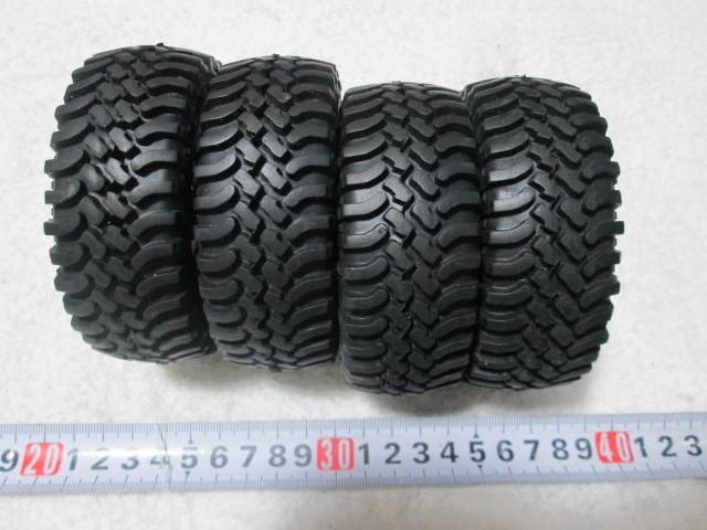 クローラー タイヤホイール オフセット変更できます タミヤCR-01 CC-01等に 中古品_画像3