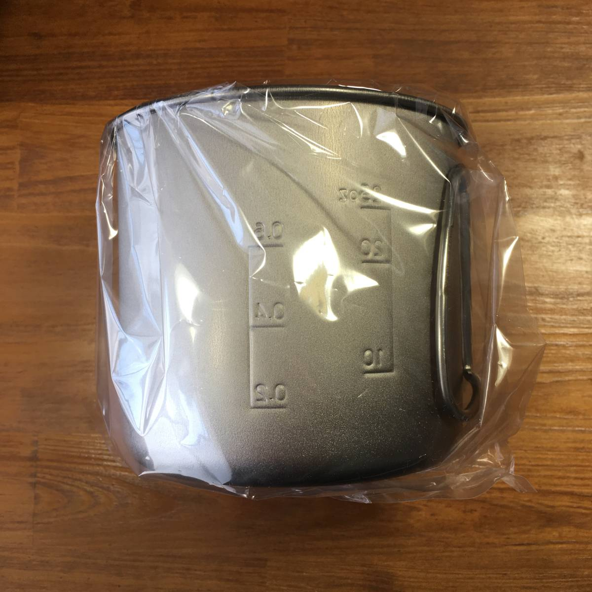 【送料無料/新品】スノーピーク snow peak チタントレック900 SCS-008T 日本製 メッシュ収納ケース付き チタンクッカー