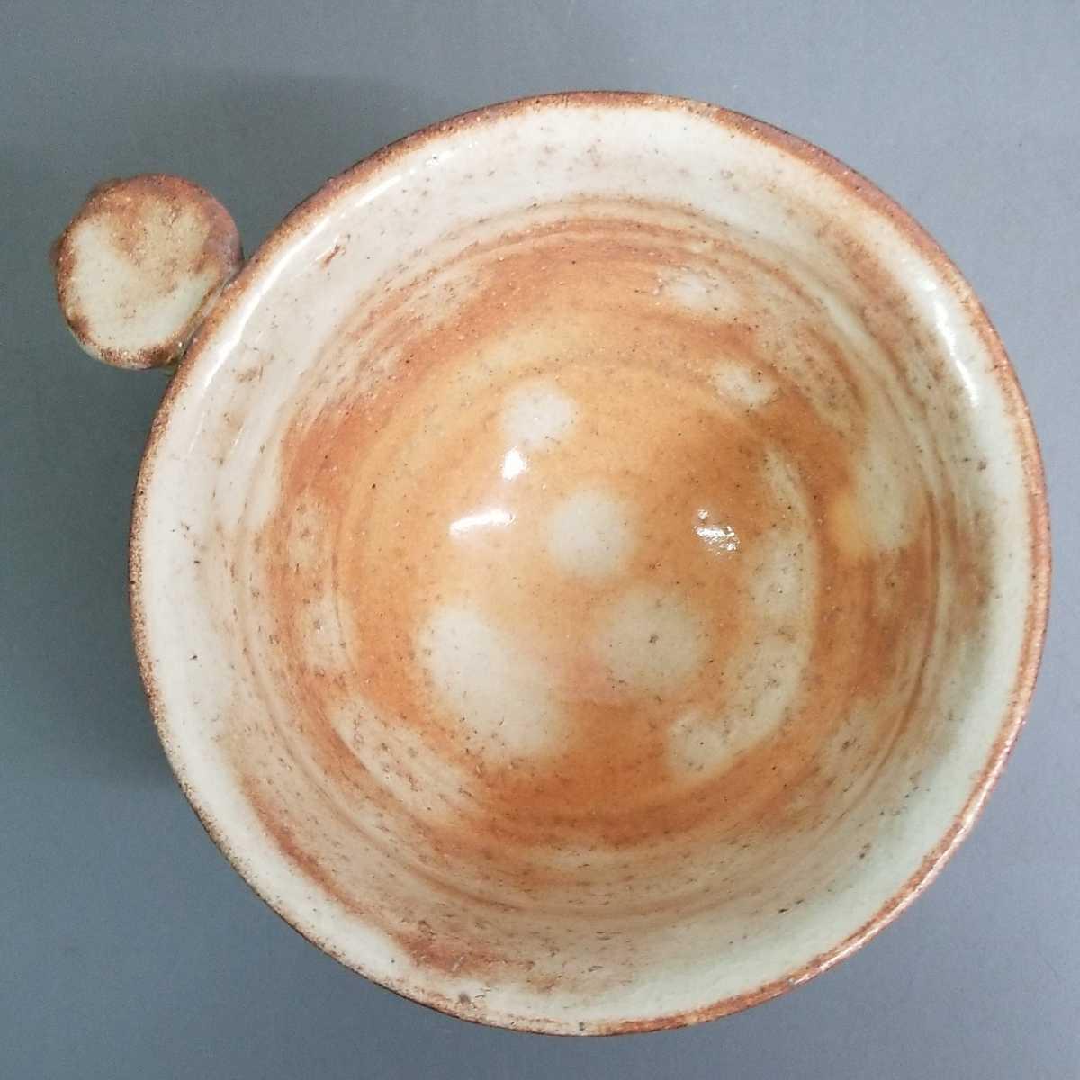 緒63)萩焼 渋谷泥詩 見島コーヒーカップ マグカップ 珈琲器 茶器 未使用新品 同梱歓迎_画像5