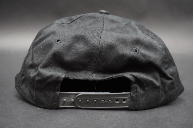 ★ アメリカ海軍 VF-154 BLACK KNIGHTS ブラックナイツ 飛行隊 識別帽 / キャップ / 帽子 フリーサイズ_画像3
