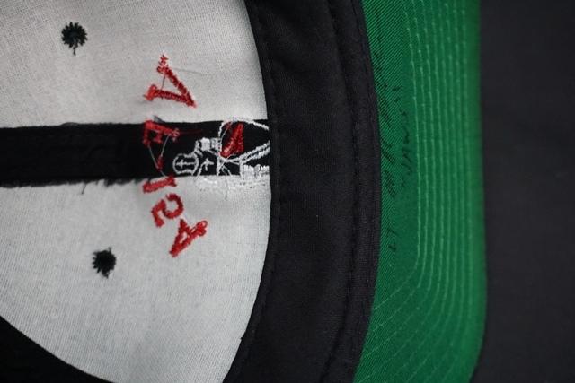 ★ アメリカ海軍 VF-154 BLACK KNIGHTS ブラックナイツ 飛行隊 識別帽 / キャップ / 帽子 フリーサイズ_画像6