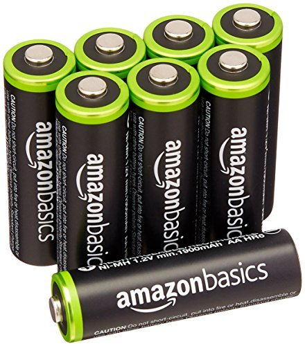 ★ラスト1点★ベーシック 充電池 充電式ニッケル水素電池 単3形8個セット (最小容量1900mAh、約1000回使用可能)_画像1