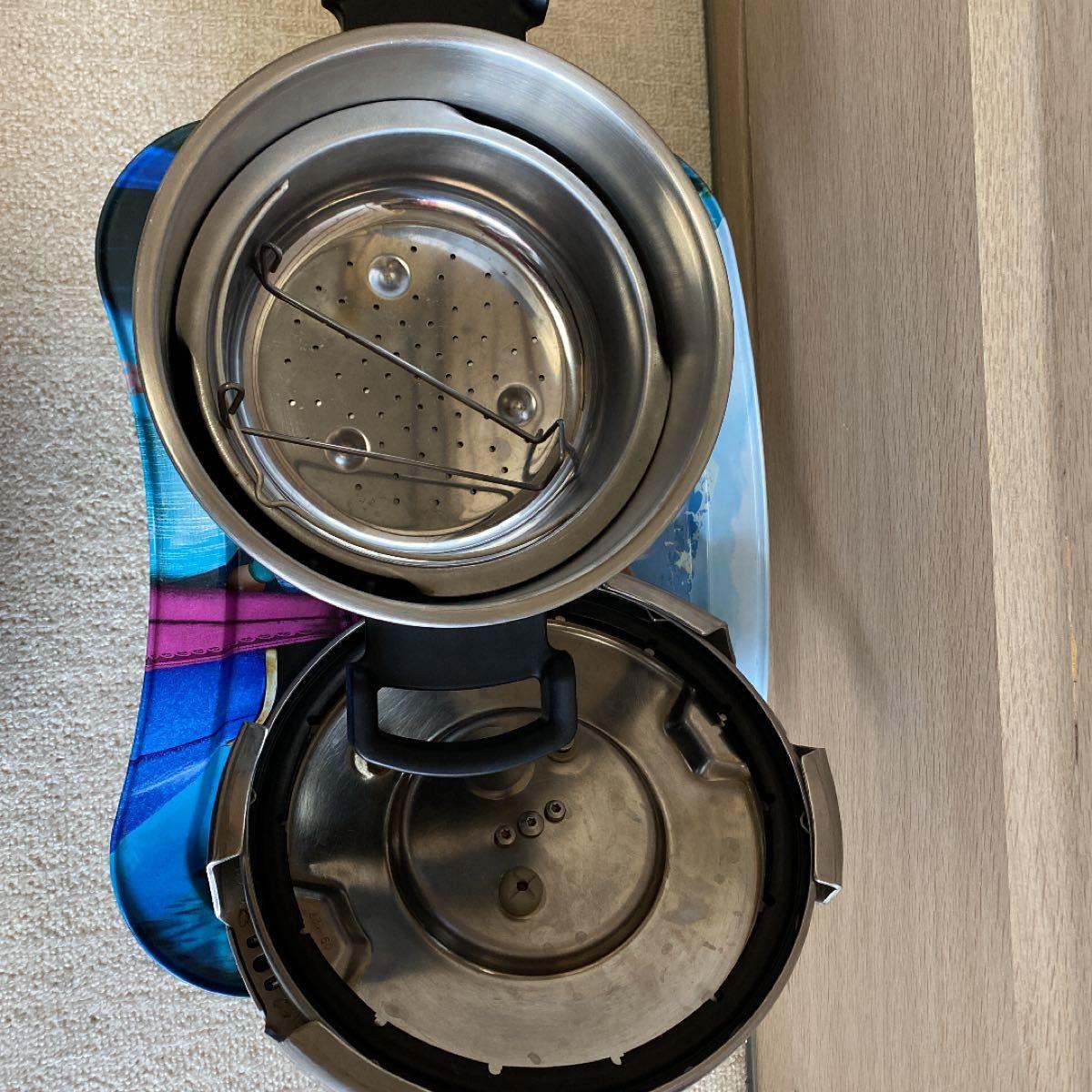 T-fal 圧力鍋 家庭用4.5L IH対応