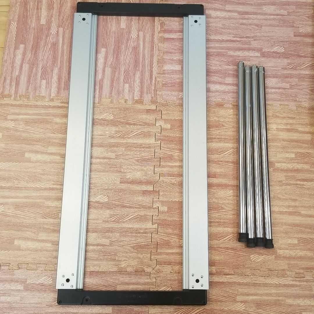 スノーピーク アイアングリルテーブルロング&660脚セット おまけで収納袋付き