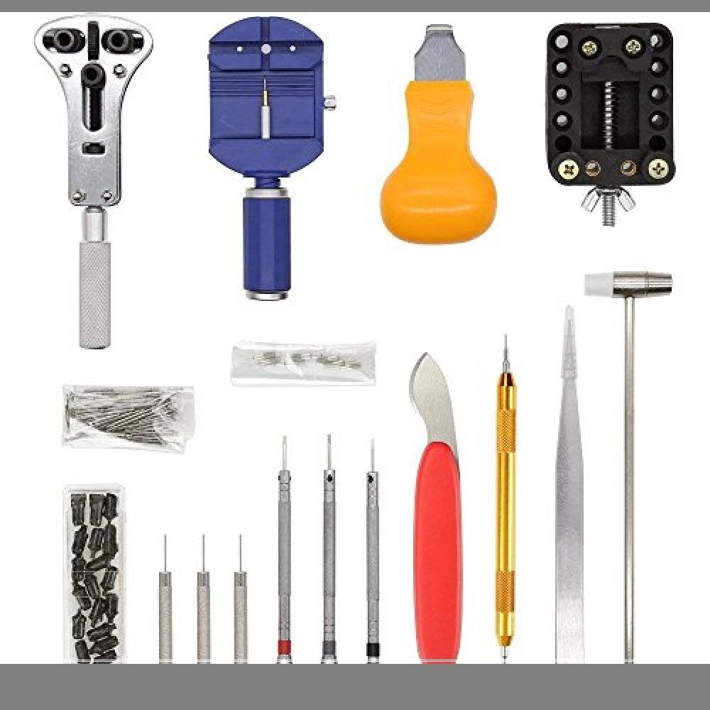新品ブルー E·Durable 腕時計修理工具セット ベルト交換 バンドサイズ調整 時計修理ツール バVP0X_画像2