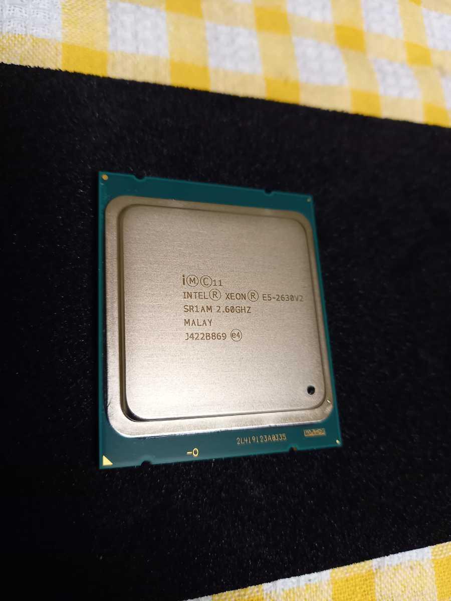 Intel Xeon E5-2630V2 SR1AM 2.60GHZ 送料無料_画像1