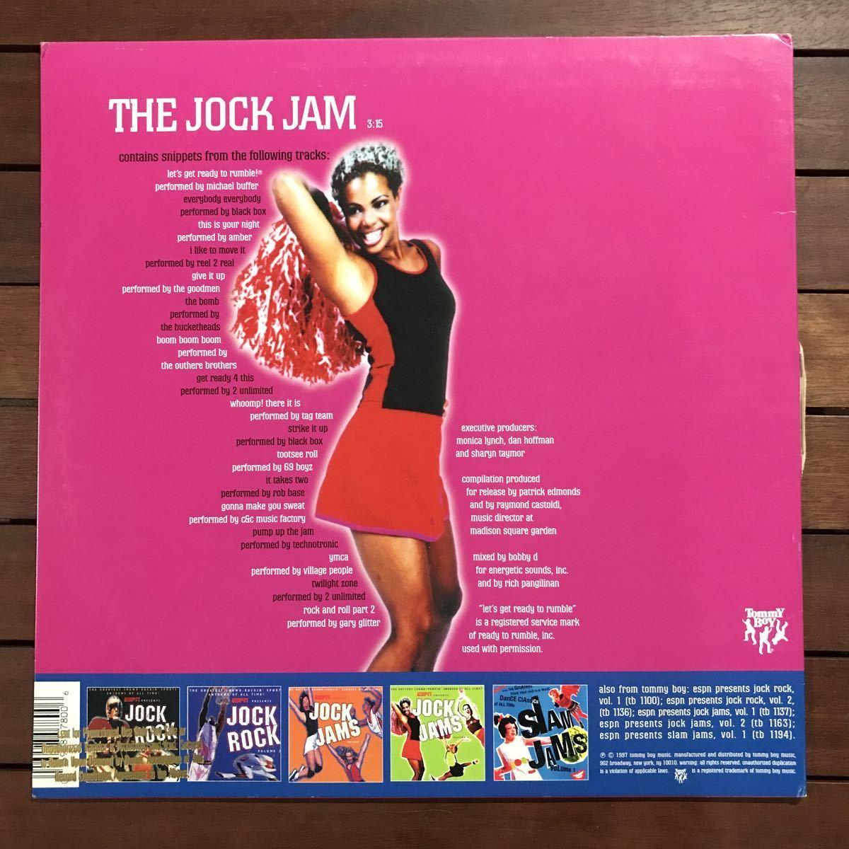 【r&b】The Jock Jam[12inch]オリジナル盤《4-2-27 9595》Medley