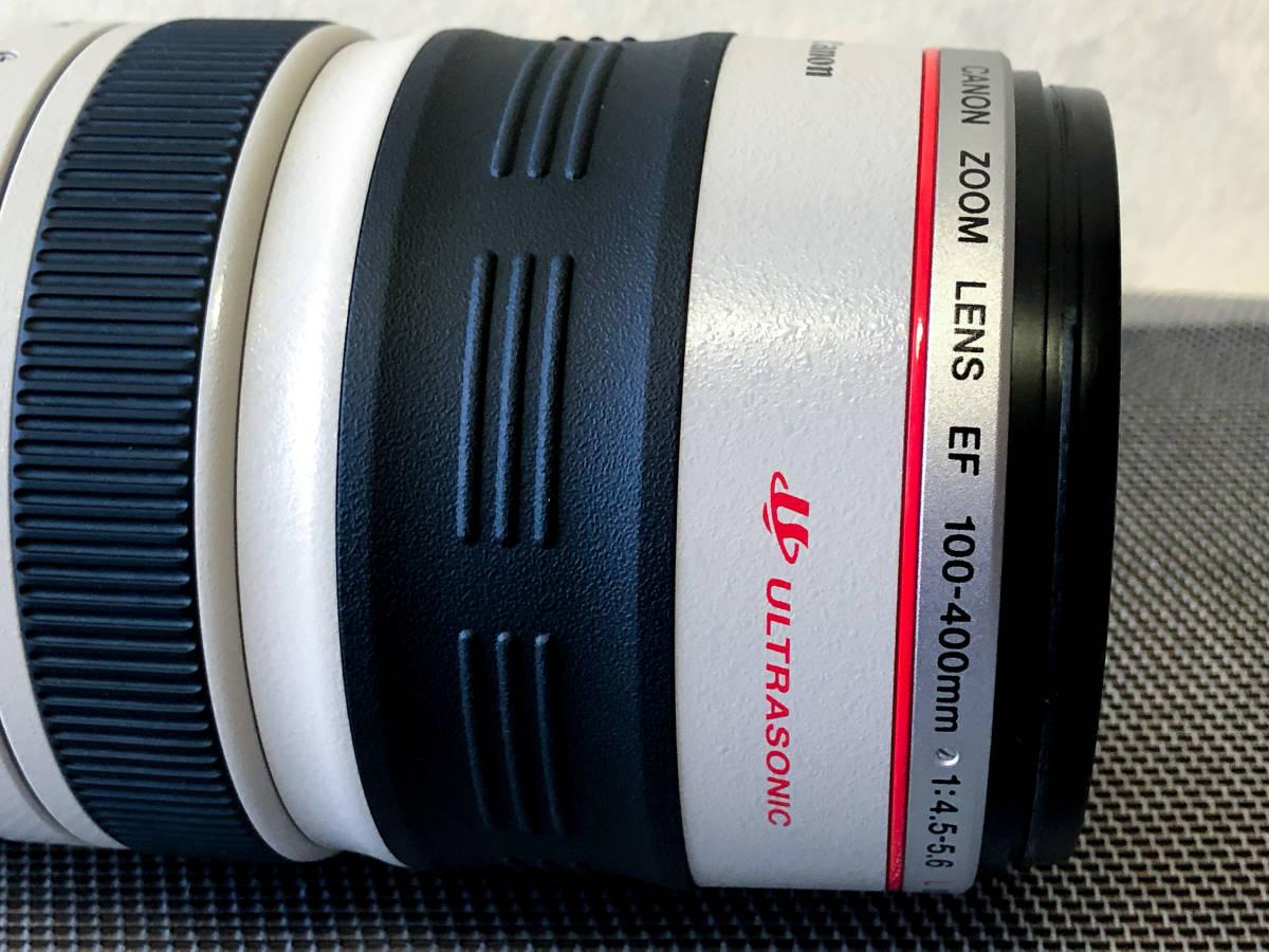 【極美品・禁煙・防湿庫保管】EF100-400mm F4.5-5.6L IS USM_画像3