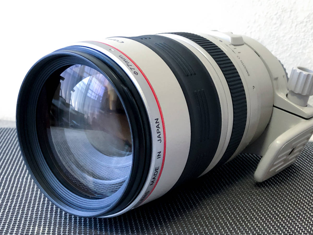 【極美品・禁煙・防湿庫保管】EF100-400mm F4.5-5.6L IS USM_画像2