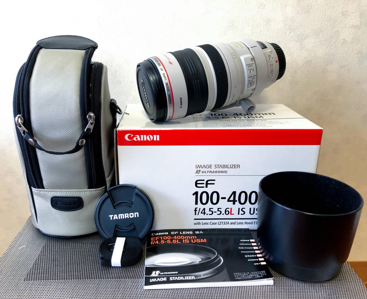 【極美品・禁煙・防湿庫保管】EF100-400mm F4.5-5.6L IS USM_画像9