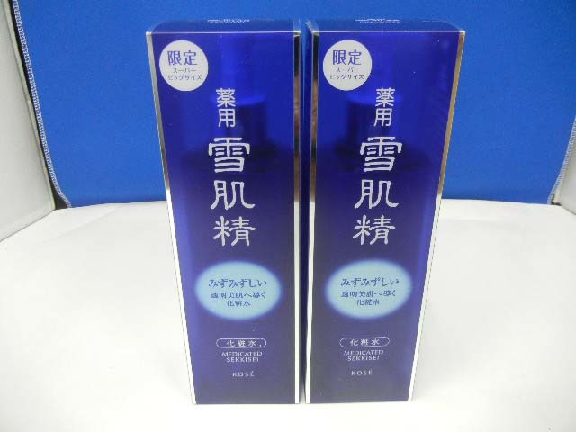 10581 新品 KOSE コーセー 薬用 雪肌精 化粧水エンリッチ 500mL 薬用化粧水 限定スーパー