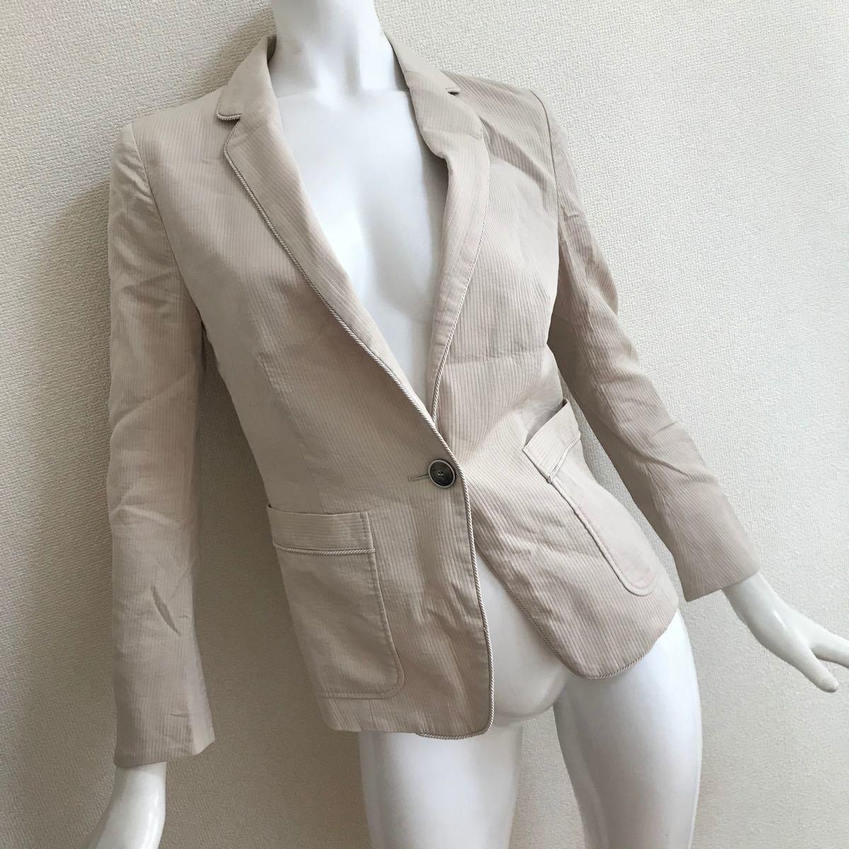 テーラードジャケット マックスマーラ ジャケット オフィスカジュアル フォーマル 23区 自由区 イネド
