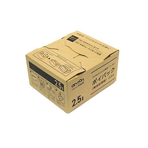 【新品未使用】お買い得限定品2.5L【Amazon.co.jp限定】エーモン(1602.5Lポイパック(廃油処理箱)_画像1