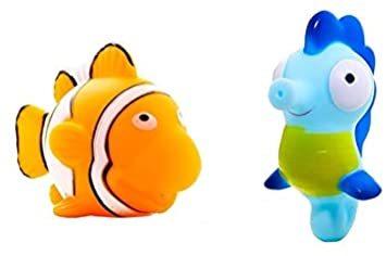 マルチカラー 赤ちゃん お風呂 おもちゃ プール 水遊び 噴水 かわいい 海の生き物 5個セット_画像6