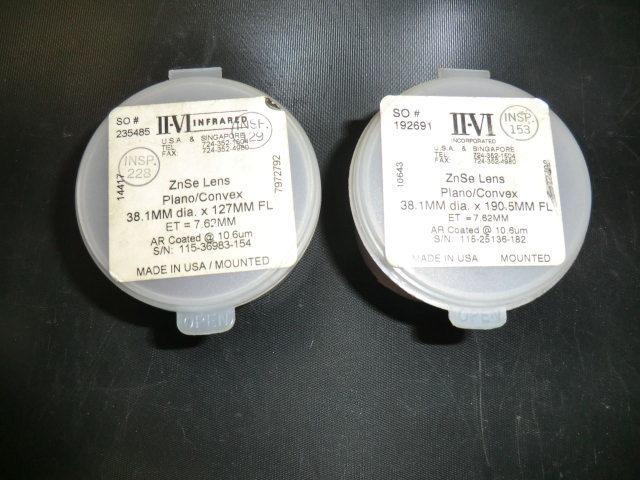 中古 アマダ レーザー加工機α-2415用で使用していた5インチ用レンズ 2個_画像1