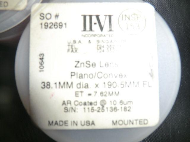 中古 アマダ レーザー加工機α-2415用で使用していた5インチ用レンズ 2個_画像2