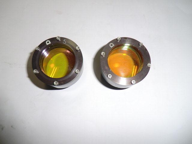 中古 アマダ レーザー加工機α-2415用で使用していた5インチ用レンズ 2個_画像4