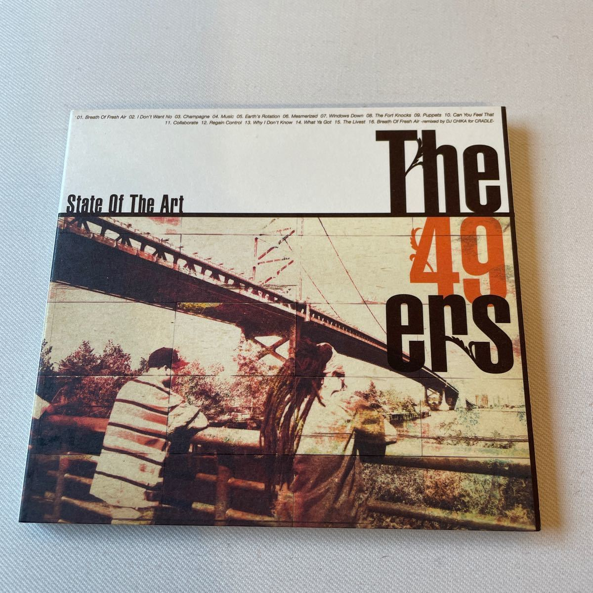 The 49 ers ザ・フォーティーナイナーズ state of the art ステイト・オブ・ジ・アート 中古CD