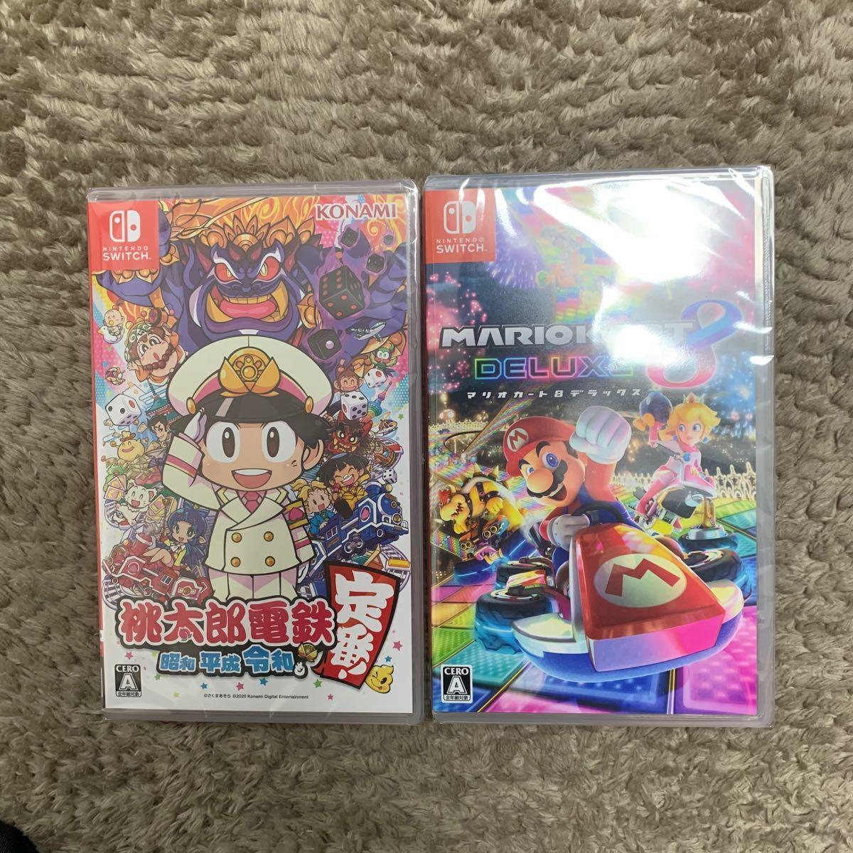 マリオカート8デラックス 桃太郎電鉄セット Nintendo Switch ソフトあいさつ
