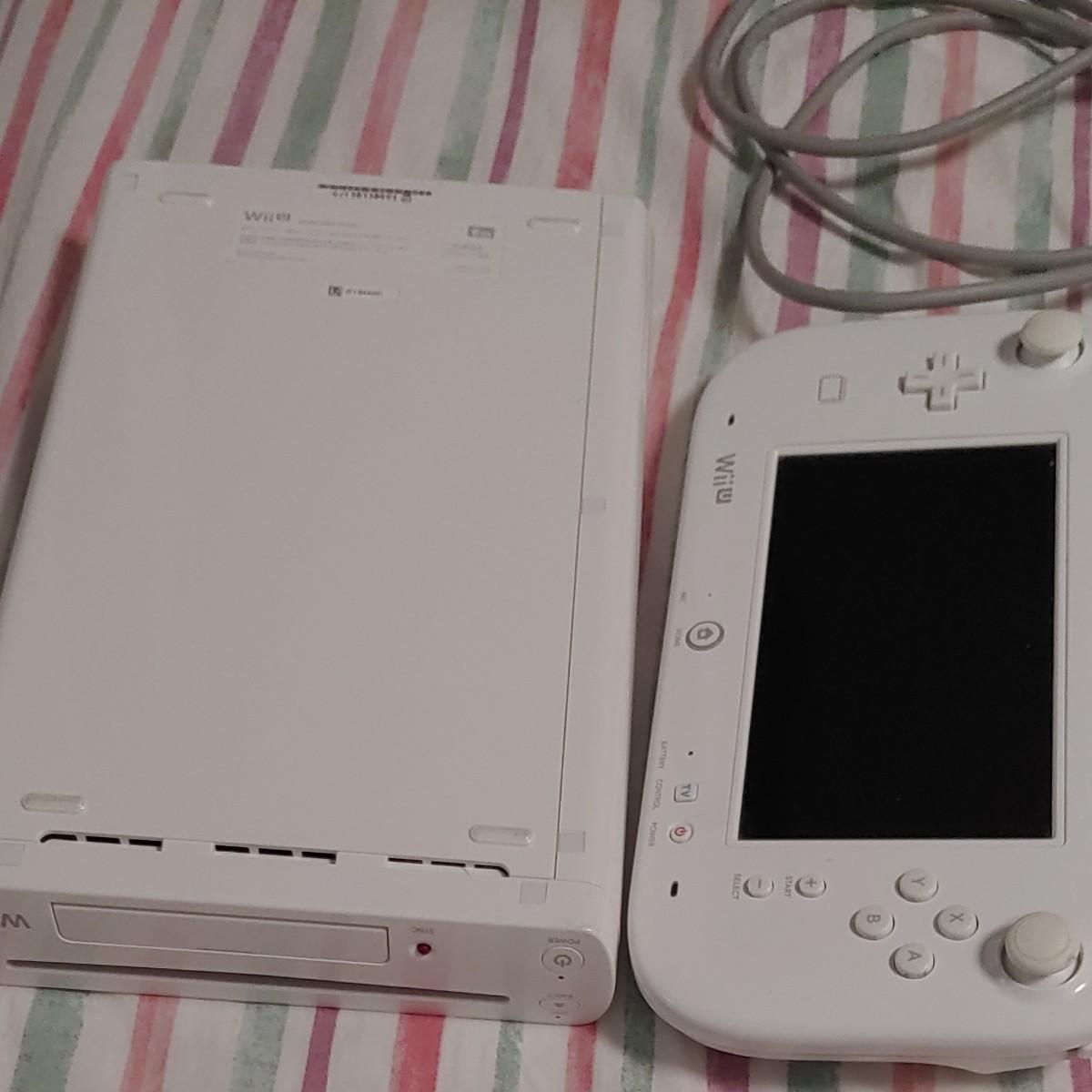 WiiU8ギガ シロ ゲームパッドセット