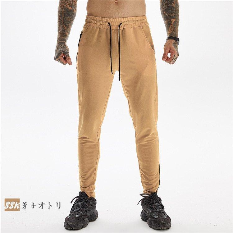 スウェットパンツ メンズ スリム ジョガーパンツ ジャージ  スウェットパンツ メンズ スリム ジョガーパンツ ジャージ スエット ジップ