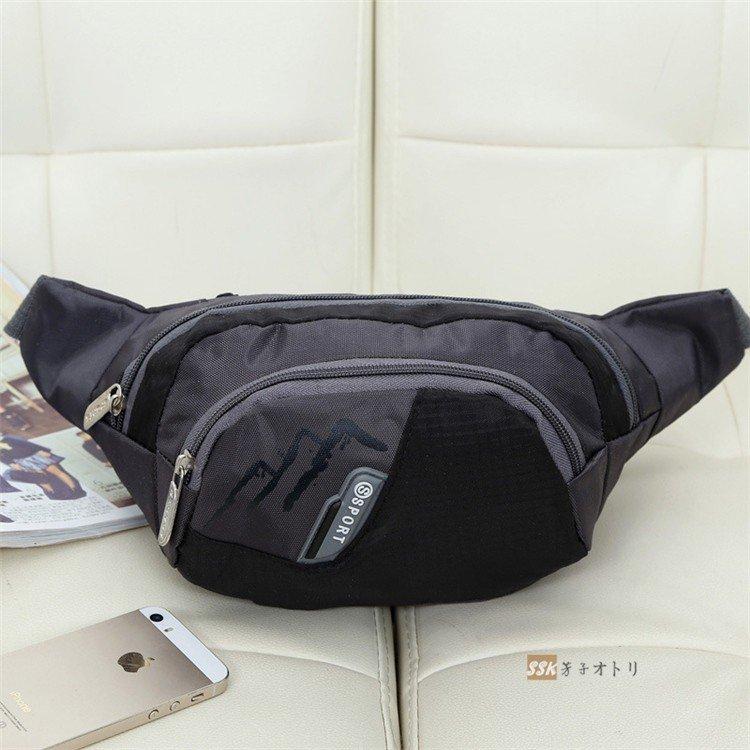 ボディバッグ ベルトポーチ ウエストバッグ 多機能 大容量 防水 ボディバッグ ベルトポーチ ウエストバッグ 多機能 大容量 防水 バッグ