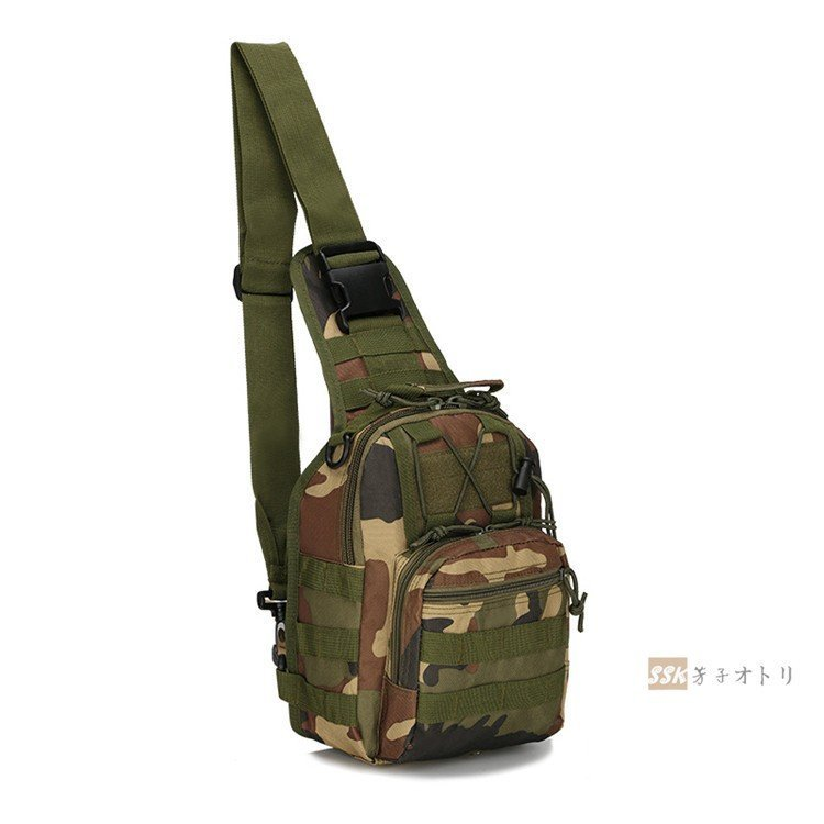 彩リュック 防災リュック リュックサック 大容量 バックパック ボディバッグ メンズバッグ 迷彩バッグ ワンショルダー メンズ 登山用 ボデ
