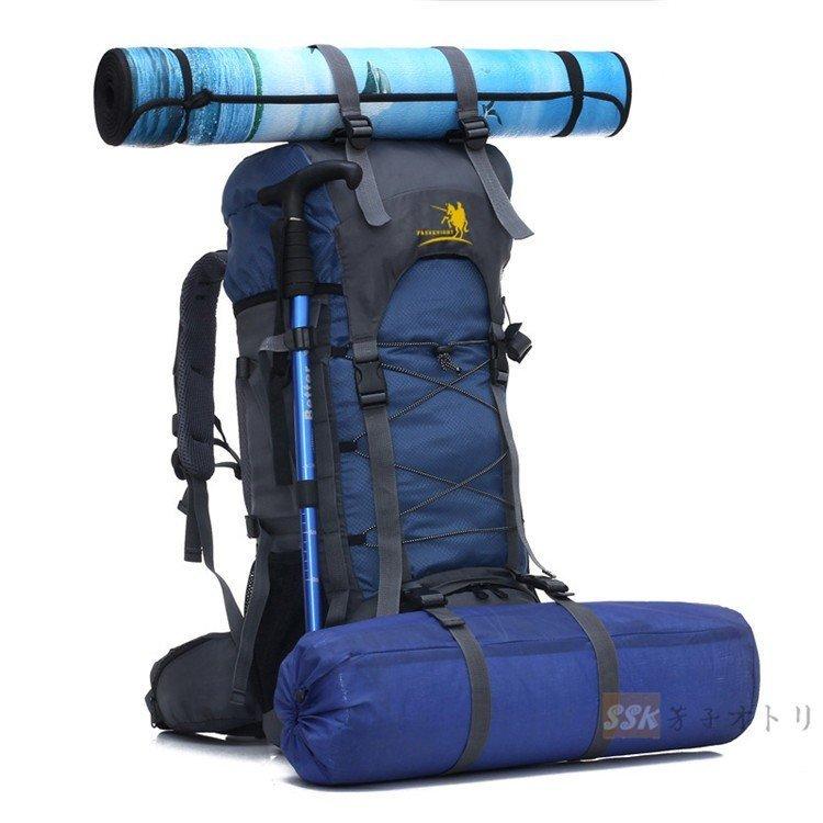 防災リュック 登山 リュック 防水 多機能 軽量 大きめ 2019 リュックサック 登山 リュック 大容量 バックパック 登山用リュック 旅行 60L