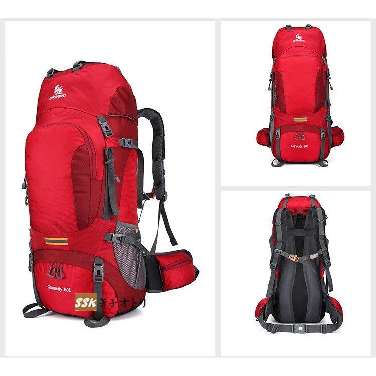 登山リュック 登山バッグ リュックサック 60L 登山リュック 登山バッグ リュックサック 60L 大容量 アウトドア 防災 遠足 旅行 撥水 男女