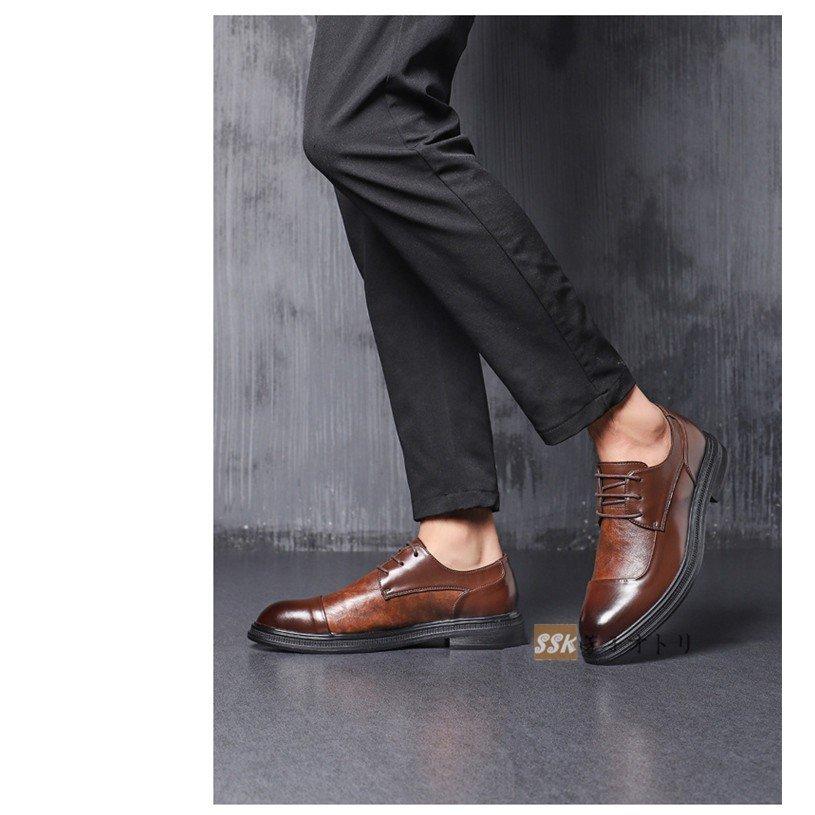 フォーマルシューズ 靴 革靴 メンズ プレーントゥ 通勤 ビジネスシューズ フォーマルシューズ 靴 革靴 メンズ 歩きやすい 紳士靴 通勤 外